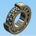 Self-Aligning Double Row Ball Bearings