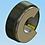 Thrust Loading - Steel, PTFE Fabric, PTFE Plastic